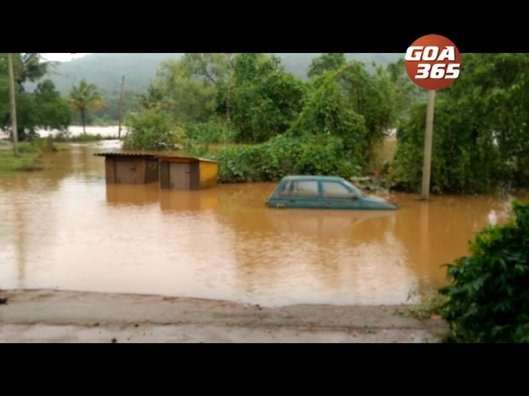 150 evacuated, houses collapse, villages turn into rivers
