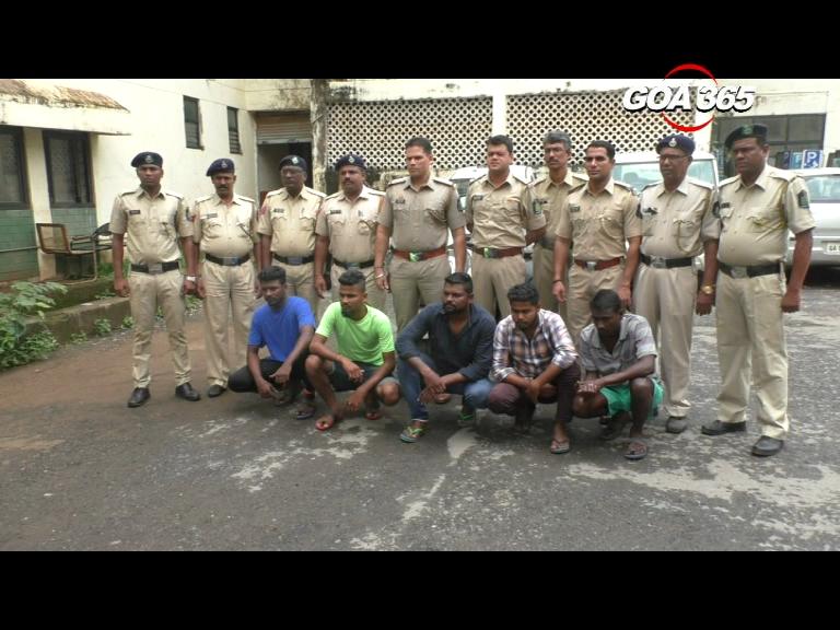 Margao gang-war: 5 held, 1 on the run