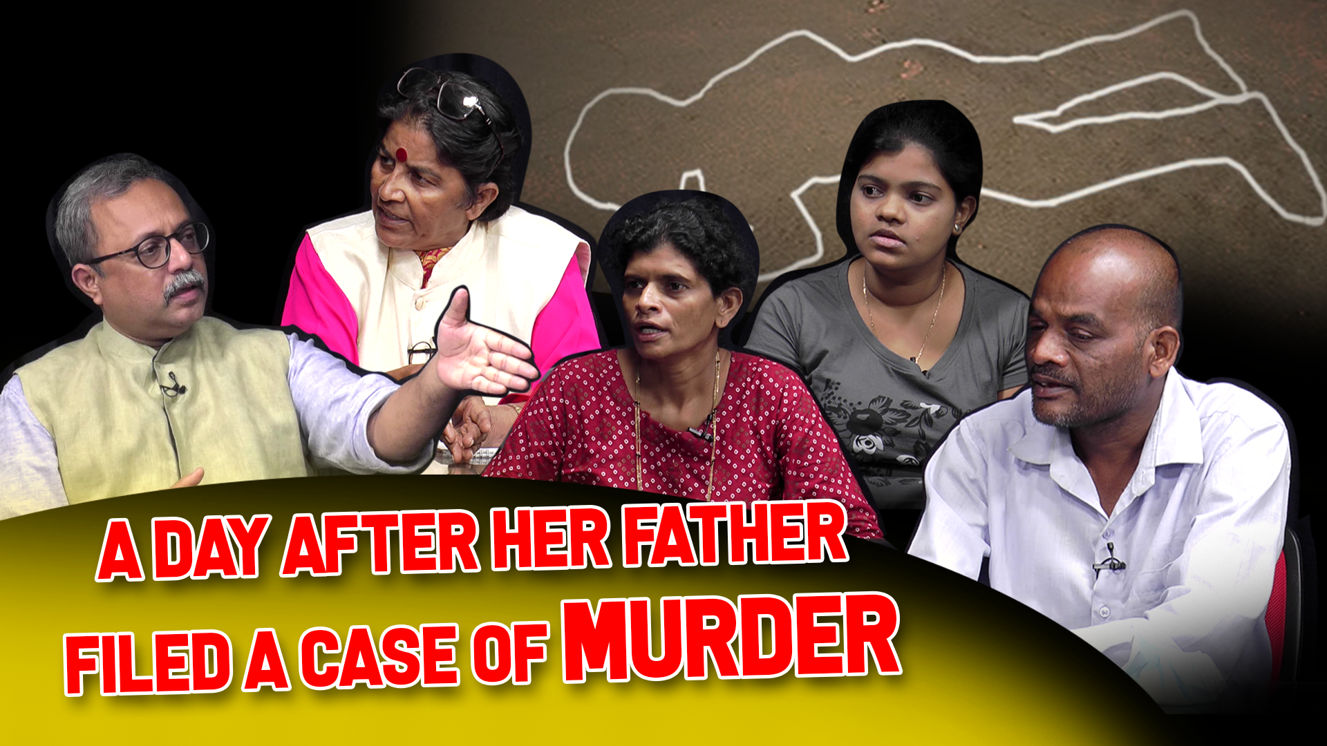 STORY BEHIND THE STORY : A day after her father filed a case of murder
