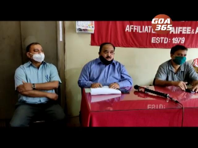 Elect. Dept responsible for Borim accident, pay 50 lakh rupees compensation: Aituc