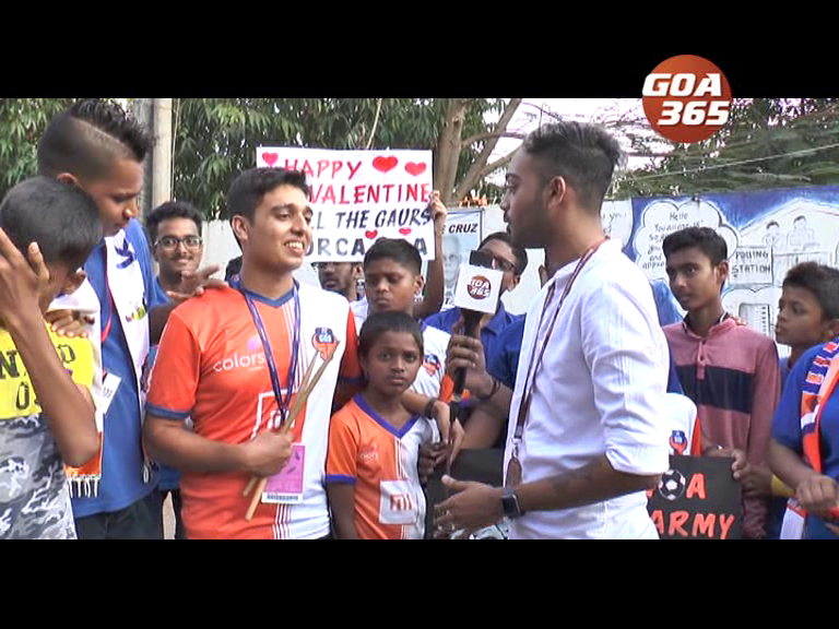 Sports Encounter FC Goa vs ATK Valentines Day special