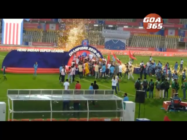 ATK lifts ISL trophy for the third time