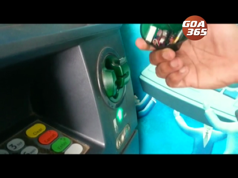 Goa Police appeals to remain alert while using ATMs