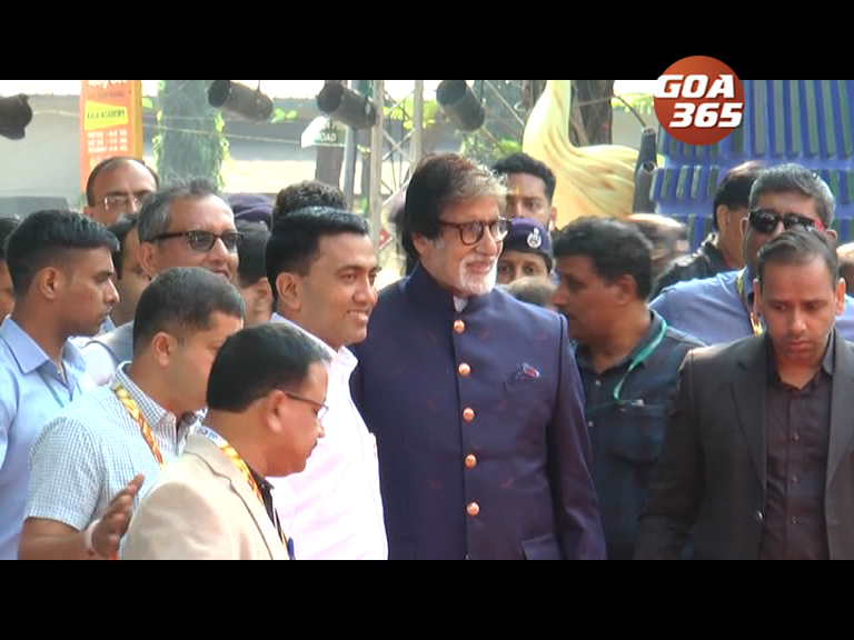 Coming to Goa is like coming home, my first movie was shot in Goa : Big B