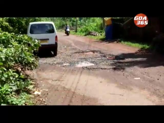Ashvem pothole get almost permanent status