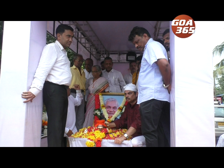 Vajpayee's Asthi-Kalash yatra draws crowd from North & South Goa