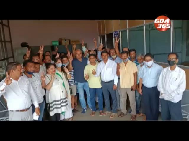 BJP looses CM's Sankhali municipal fotress