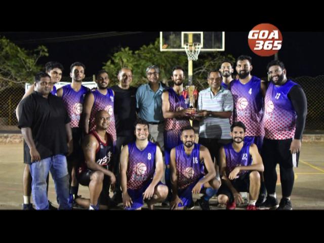 Port Town Playoff Basketball tourney: Sonic Porvorim emerge champs