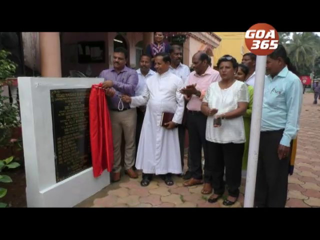 Betalbatim panchayat finally uses jubilee funds to extend the building