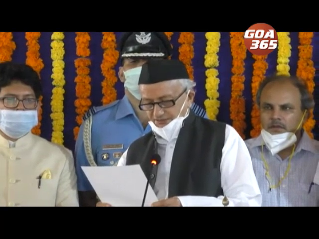 Bhagat Singh Koshyari sworn as new Goa Governor