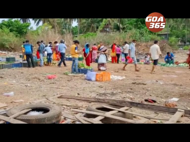 Bicholim weekly bazaar held in filthy conditions