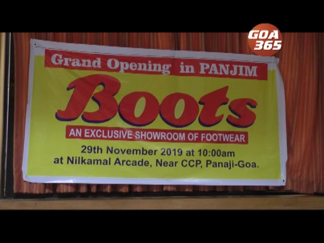 Boots to open its footwear showroom in Panaji