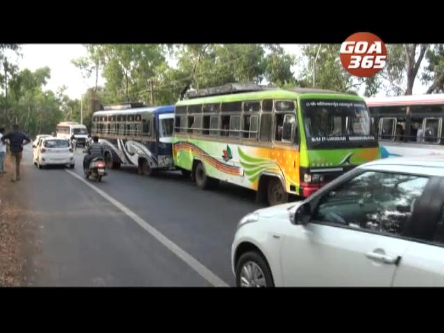 Navelkars raise ire over overspeeding buses along Margao-Cancona highway