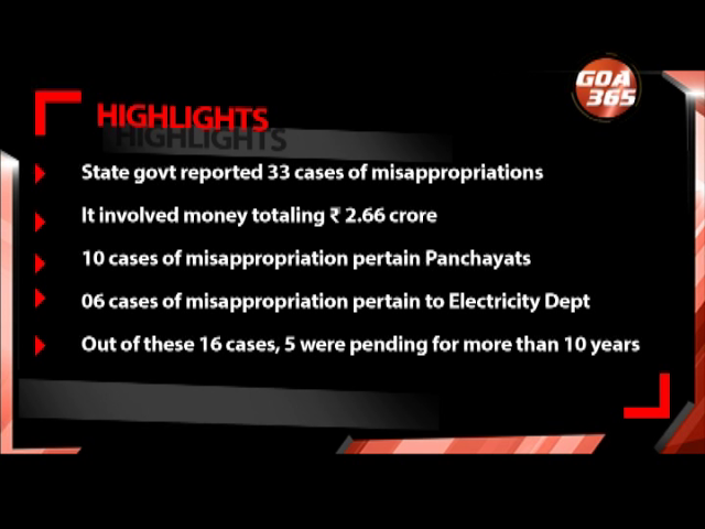 Directorate of Panchayat in top position on misappropriation: CAG Report