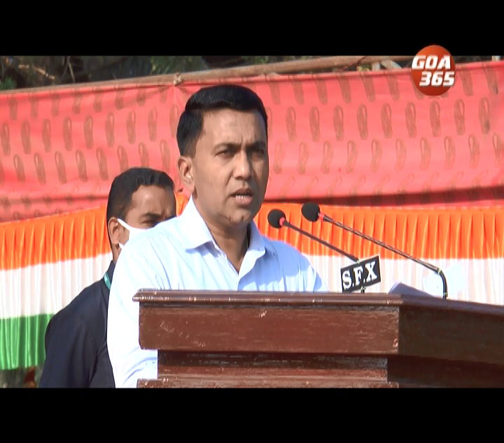 CM appeals to youth to make the state a golden Goa
