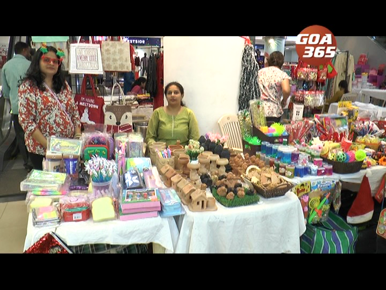 Women entrepreneurs put up Christmas sale at Caculo Mall