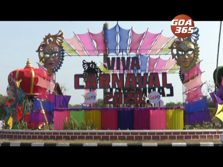Traffic flow at Panaji on Carnival day1