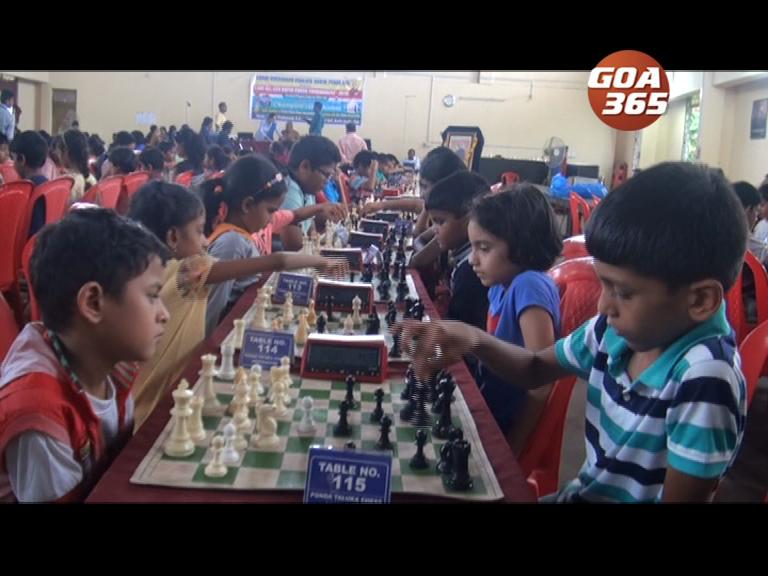 All Goa Rapid Chess Tournament 2018 kickstarts