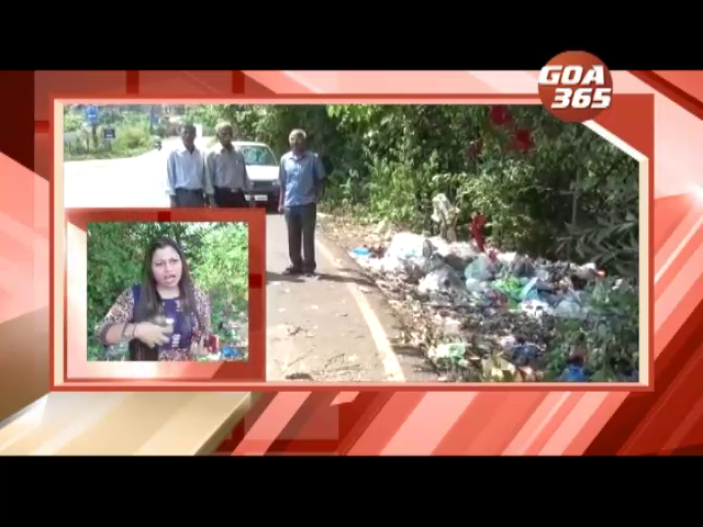 Chicalim residents up in arms over stinky garbage on roadsides