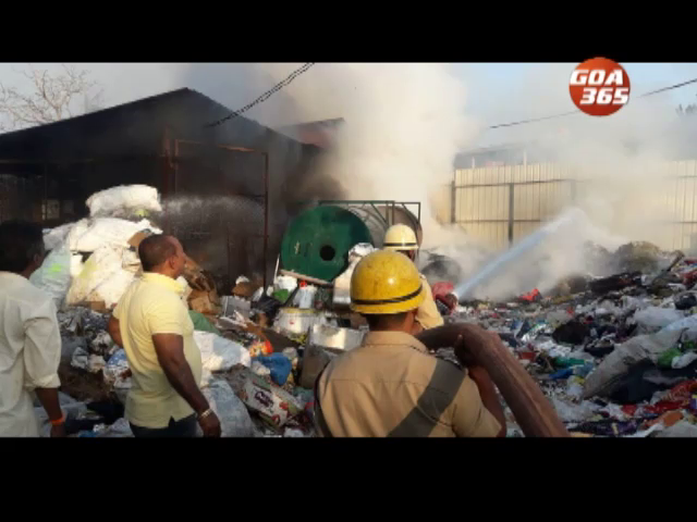 Fire at Chimbel garbage dump, reason unknown