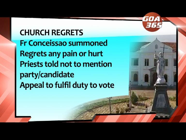 Fr Conceissao apologises, but Tara defends him
