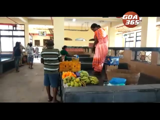 Existing vendors shifted to new Cortalim Market complex Vendors