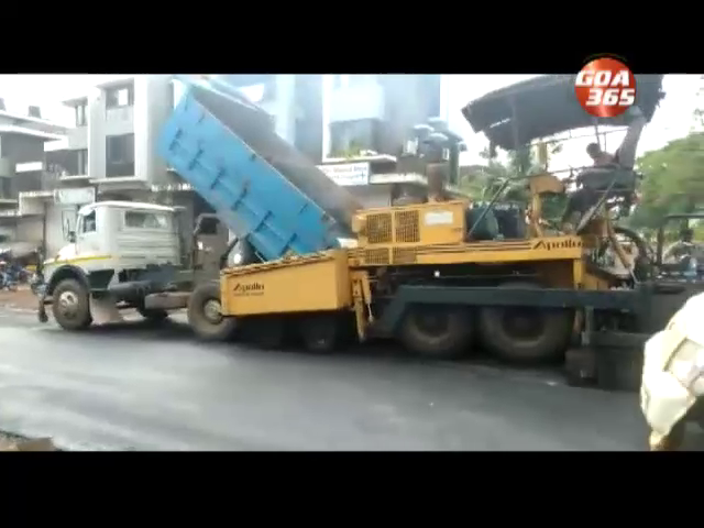 Curti roads being repaired - finally