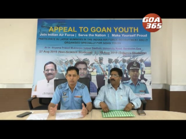 Wing Commander DaCosta appeals Goans to join Air Force