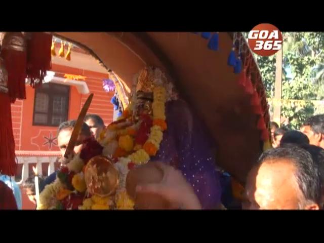 Dusshera celebrated at Shantadurga Temple Balli
