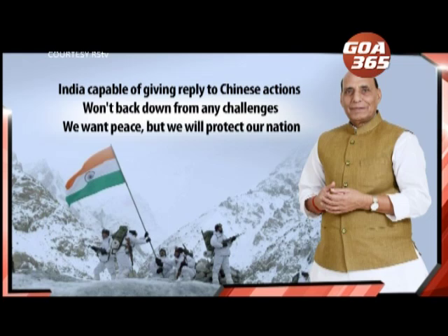 No power on earth can stop India from patrolling in Ladakh: Defence Minister