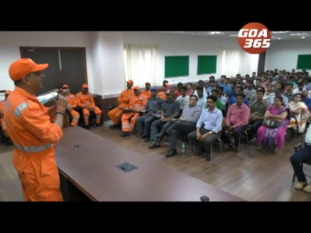 Disaster management workshop at Margao