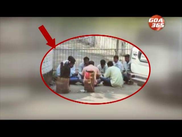 Despite govt promises people still cooking, eating on streets