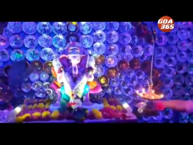 Dron Ganpati Decoration