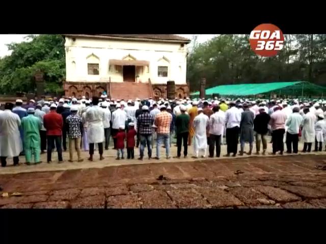 Eid celebrated all over Goa