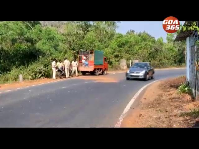 Fatal accident on sharp turn kills one on spot