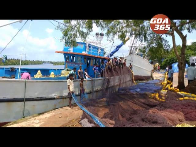 Finally, Cutbon fishermen  venture into sea