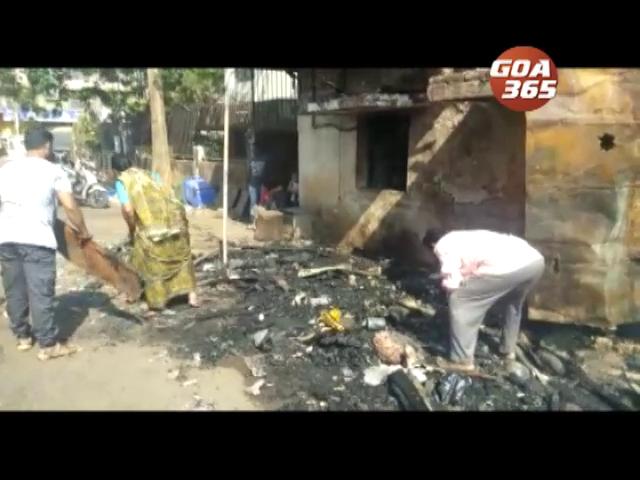 2 Baina vegy shops gutted in fire