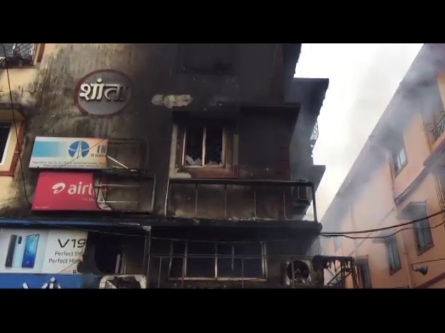 Pharmacy in Sankhali gutted into fire