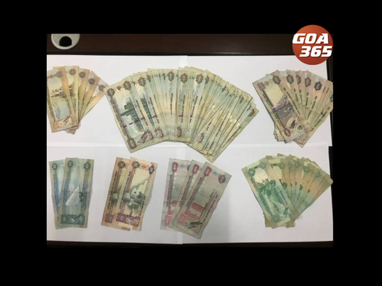 Foreign currency worth 14.08 lakh seized