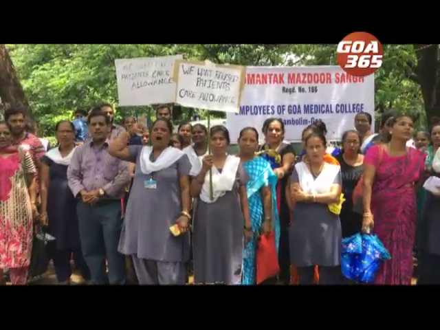GMC patient attendants staff on Strike