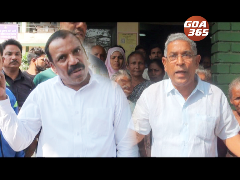Gandhi Market leaders fight over extortion