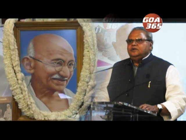 Cong made Charkha of Mahatma Gandhi; Guv recalls Lohia