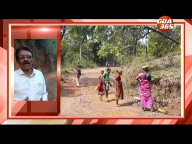 Gaondongri villagers repair road on their own after govt neglects it