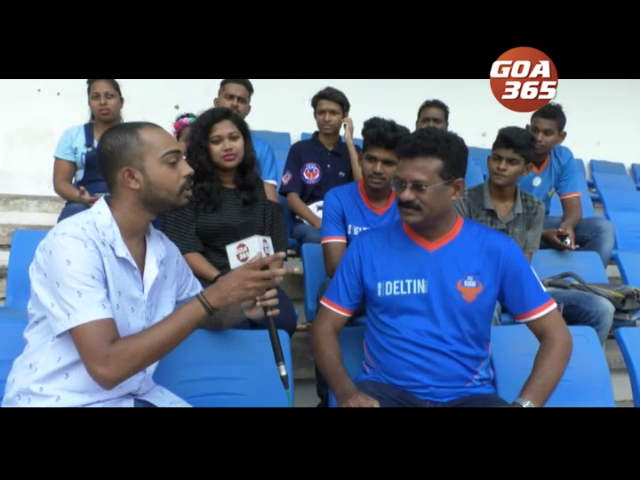 Sports Encounter with FC Goa's Gaur Army