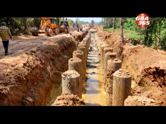 Girdolim locals  stop SWR double tracking work, say land not acquired