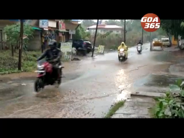 Goa to see heavy showers, strong winds  on Wednesday too