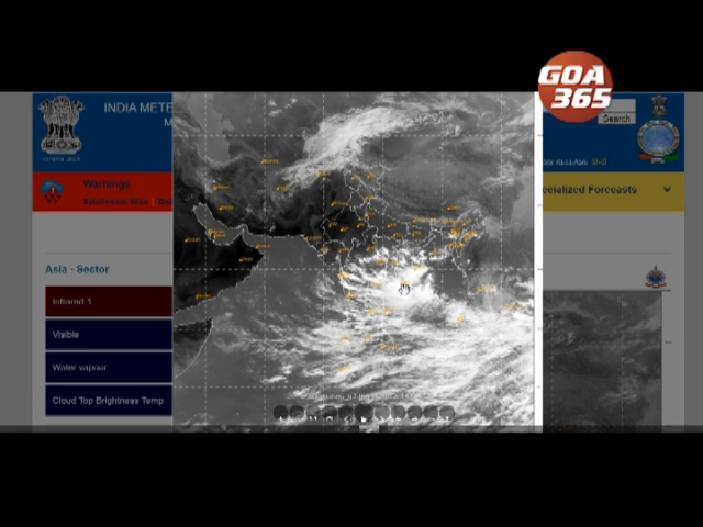 Goa to witness heavy rains with thunderstorm till Oct 13