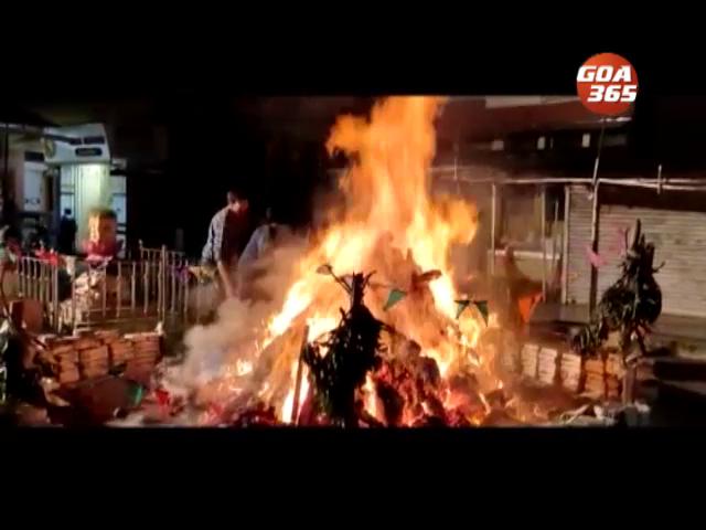 Goa celebrates Holi