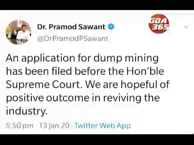 Govt approaches SC to sell mining dumps