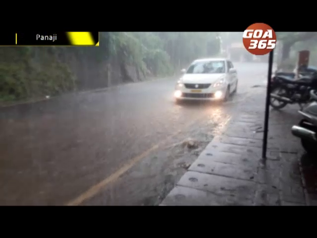 Heavy Rains to cont, Goa to witness Heavy showers for next 48hrs